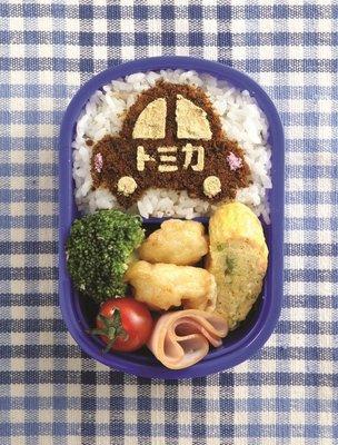 トミカ TOMICA 汽車 香鬆 可可粉 灑板 飯灑 用於 飯 蛋糕 拿鐵 食物造型板