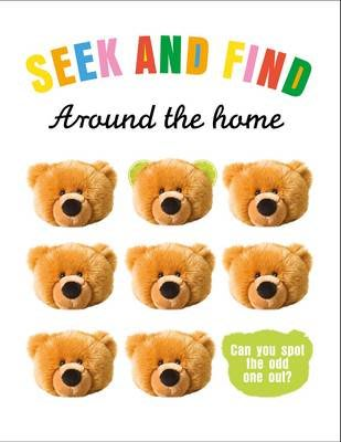 Seek & Find: Around The Home - Spot-the-Odd-One-Out Book 公司貨
