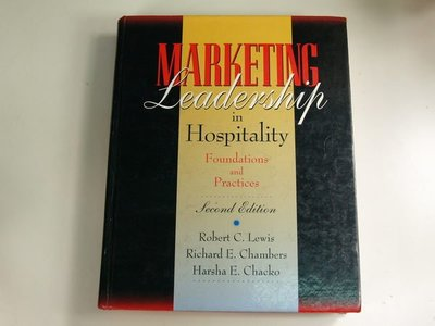 【懶得出門二手書】《Marketing Leadership in Hospitality》ISBN:0442018886│七成新(22Z44)