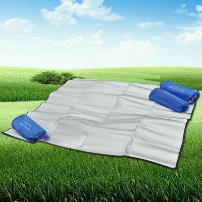 ((囤貨王))多功能雙面鋁箔防潮墊 200*300 雙面鋁箔墊 野餐墊 露營地墊 睡墊  露營用具 防水地布 露營 高雄市