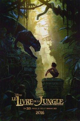 Disney 迪士尼- 與森林共舞 (森林王子 Jungle Book)- 北美法語區原版雙面電影海報 (2016年)