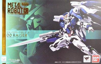 日本正版 萬代 METAL ROBOT魂 MR魂 鋼彈 00 Raiser GN SWORD III 公仔 日本代購