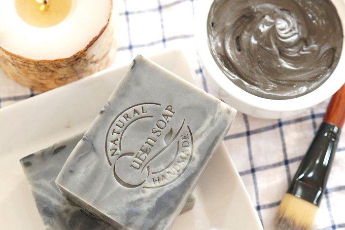 女王天然手工皂「冰河礦泥-淨膚控油皂 」  手工香皂 手工肥皂 冷製手工皂