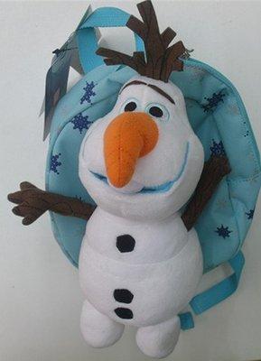 ~妮好快樂~韓國直送_WING HOUSE正品 迪士尼動畫冰雪奇緣雪寶兒童防走失背包