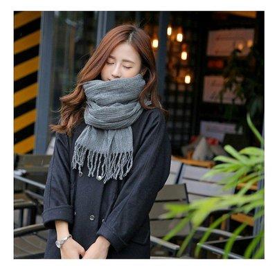 秋冬保暖 素面皺褶厚圍巾 6色可選 可當披肩脖圍 流蘇設計 仿羊絨材質非常舒服 長度寬度夠 造型百搭 韓版美女 生日禮物