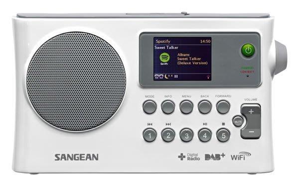 【免運費】SANGEAN 山進WiFi網路收音機/數位廣播/調頻/USB網路收音機 WFR-28C