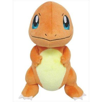 尼德斯Nydus 日本正版 精靈寶可夢 神奇寶貝 Pokemon 小火龍 絨毛玩偶 娃娃 御三家 高約17cm