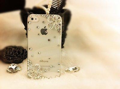 【新開幕衝評價 賠本出售】五瓣花 iphone X 手機殼 HTC 三星 SONY 手機套 - 透明/全黑殼 A002