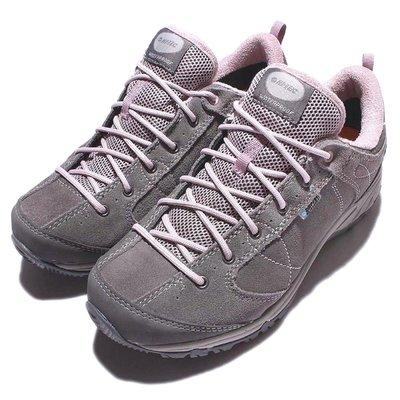 =CodE= HI-TEC EQUILIBRIO BELLINI LOW WP 防水麂皮戶外登山鞋(灰) 健行 一元起標