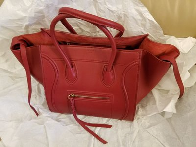 100% real 100% new Celine luggage bag L size