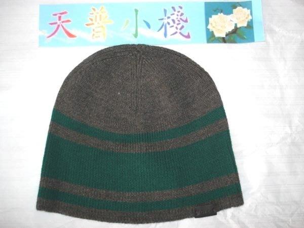 【天普小棧】COACH F 82720 stripe merino knit hat男生羊毛針織帽現貨抵臺