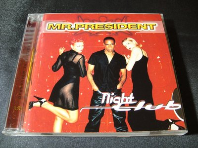 【198樂坊】Mr. President - Night Club(So They Set Off...日版)BO