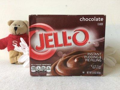 【Sunny Buy】◎現貨◎ 美國 Jell-O 布丁粉 巧克力口味  簡單方便又好吃 167g/盒