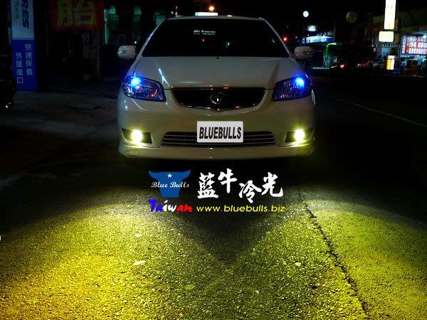 【藍牛冷光】06年小改款 VIOS WISH 大發 SIRION 4RUNNER NEW RAV4四代 H11魚眼霧燈 可搭配HID 天使眼