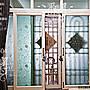 [潘朵拉時尚館]A- 504無膠靜電玻璃窗貼 玻璃...