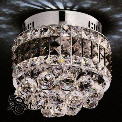 【58街】LED 燈飾「水晶鑽玄關燈 、 吸頂燈 」復刻版。GZ-203