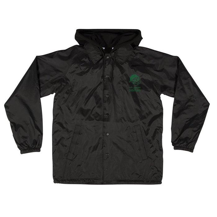 [CABAS滑板店] CREATURE DRESSEN PACHUCO JACKET 黑色 │防風 連帽 風衣 外套