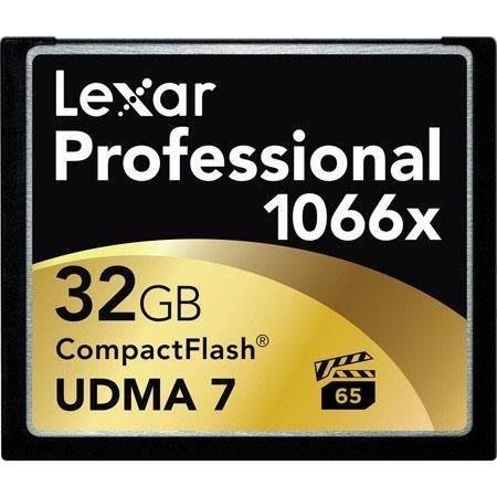 【雷克沙王】Lexar 32G 1066x CF記憶卡UDMA 7 VPG-65 版本
