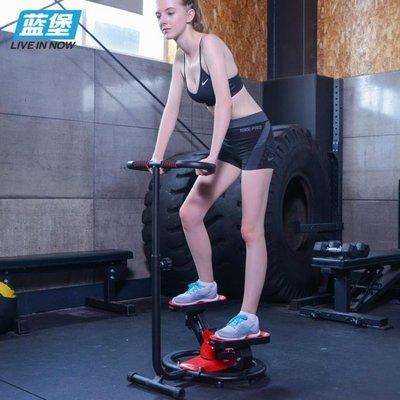 藍堡家用靜音扶手踏步機登山腳踏機扭腰盤多功能健身器材igo