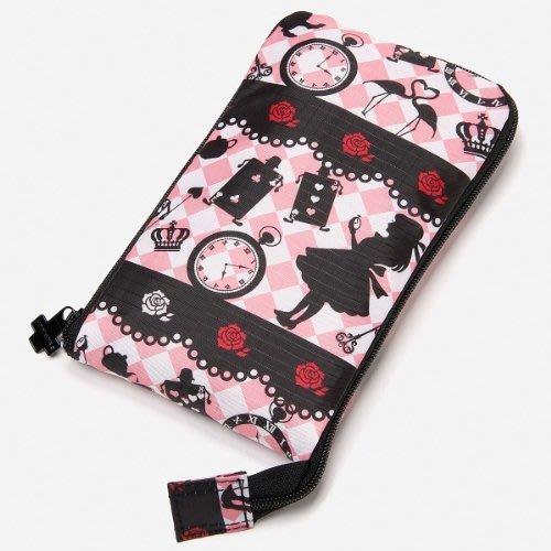 Ariel's Wish出差旅行李HAPI+TAS輕鬆掛勾式拉桿包包旅行袋購物袋蝴蝶結蕾絲愛麗絲Alice粉紅色紫色絕版