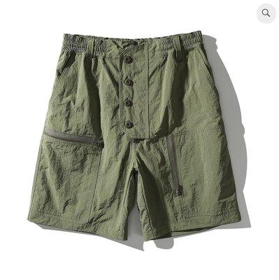 WaShiDa Club Stubborn Flying Shorts - Olive 橄欖綠