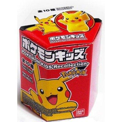 神奇寶貝 精靈寶可夢 KIDS Recollection  寶可夢小公仔 A 亞洲限定 一中盒12入 (207859)