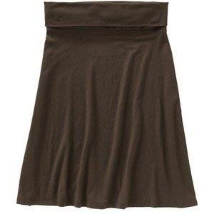 【美衣大鋪】c1☆ OLD NAVY 正品☆Roll-Over Jersey Skirts 及膝美裙