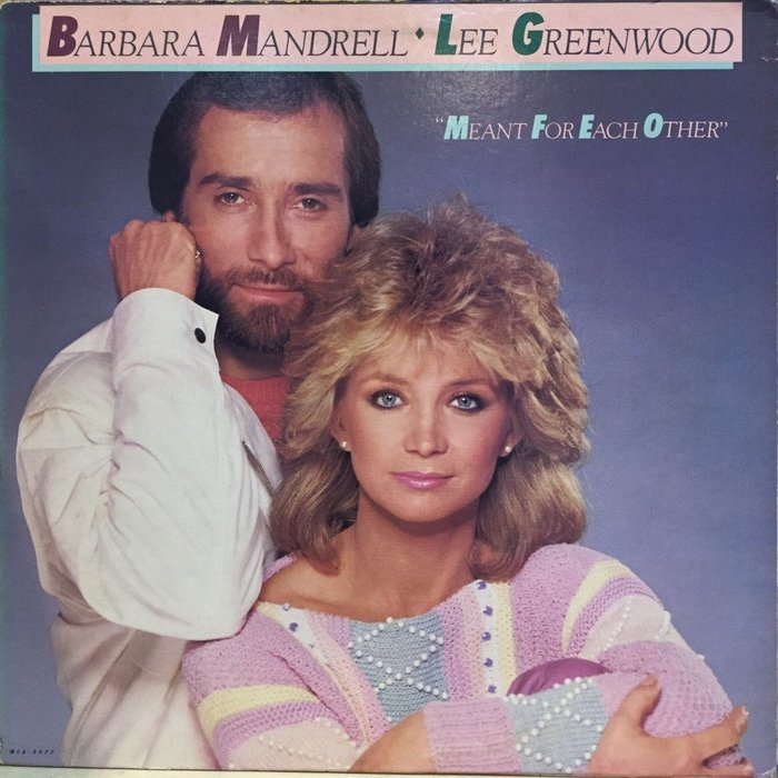 §小宋唱片§ 日版/Barbara Mandrell,Lee Greenwood-Meant For/二手西洋黑膠
