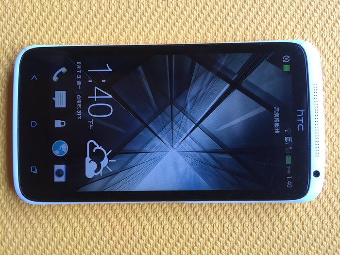 HTC One X 32g ROM / 4.7吋 /4核心/白色