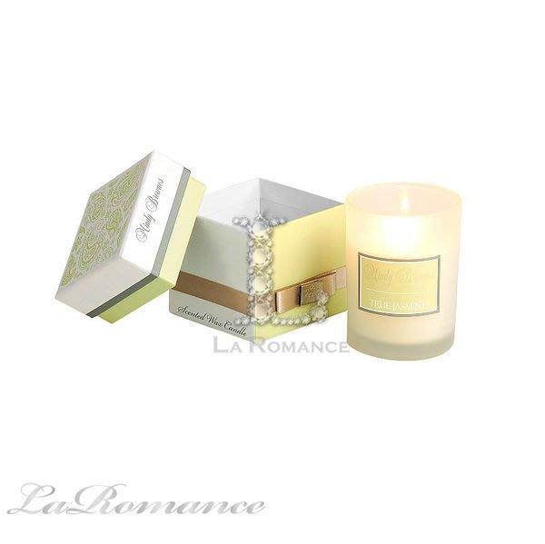 【Mindy Brownes】精品香氛系列之 Scented Wax Candle 單入大蠟燭 -清新茉莉