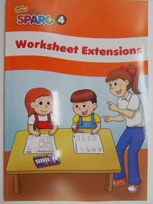 【月界二手書店2】新書~Little SPARC 4-Worksheet Extensions_何嘉仁〖少年童書〗CCF
