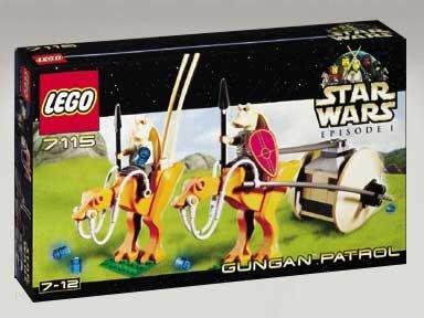 全新樂高 星球大戰 LEGO Star Wars 7115 Gungan Patrol