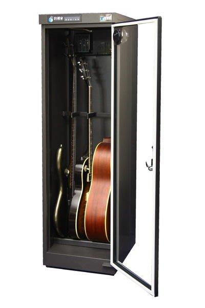 ☆ 唐尼樂器︵☆防潮家 D-215AG 木吉他/電吉他/ Bass 電貝斯專業型防潮箱(LCD 微電腦顯示型)