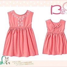 【B& G童裝】正品美國進口GYMBOREE Sunny Dot 雪花圖樣粉紅色背心裙3yrs