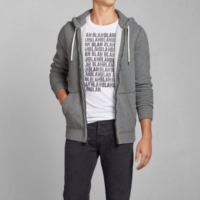 A&F Abercrombie&Fitch Ausable River Hoodie連帽外套