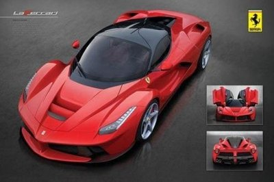 Ferrari La Ferrari海報