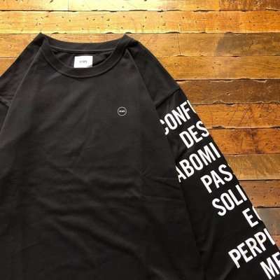 ☆AirRoom☆【現貨】2018AW WTAPS INGREDIENTS / LS TEE 長T 目錄隱藏款 LOGO