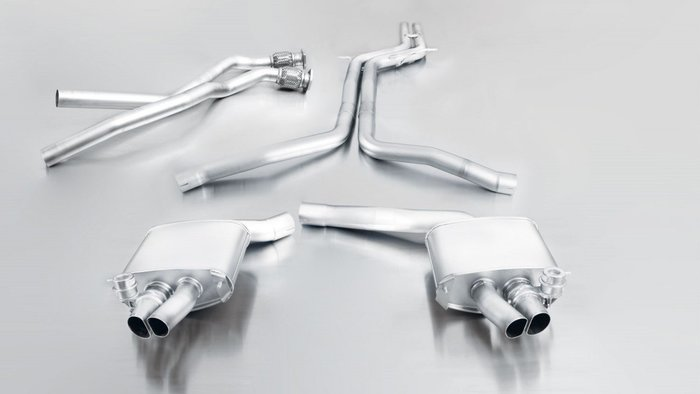 奧地利 Remus Sport Exhaust 排氣管 中尾段 雙邊 雙出 Audi RS4 8T B8 12+ 專用