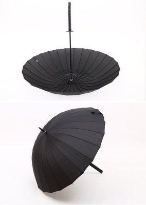 日本 雨傘 武士刀 鋼傘 雨傘 效能雨傘 抗UV 武士刀 防曬 抗紫外線 武士高 傘 花卉 傘 武士 忍者 X戰警 英雄