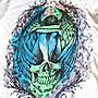 Sinful Affliction 女短袖 T 恤 美式設計 哭泣天使 微風 刺青潮牌 白色 M 【以靡賣場 imy88.com】