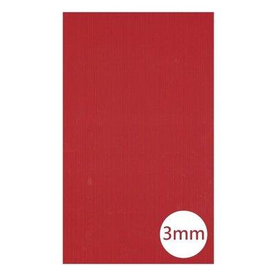 (不可超取)C125- 30x50- 3mm 素面PP瓦楞板-卡片、佈置、裝飾時使用(須購買5片以上才會出貨)請選擇顏色