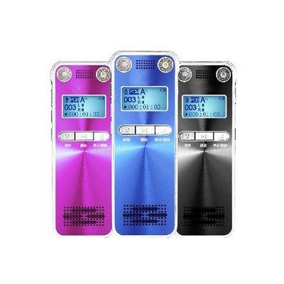 《實體店面》【全新原廠公司貨】LAXON DVR-A800 【內建16G】完美音質專業錄音筆 (黑色)