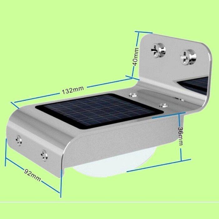 5Cgo【權宇】太陽能燈戶外庭院花園燈人體感應燈 超亮LED照明燈 壁燈 光控/聲控 兩模式選一 鋰電池可亮5小時 含稅