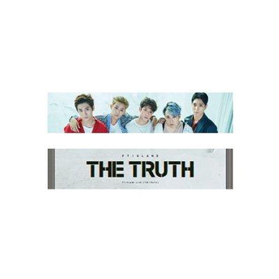【Im lovin CNBLUE】FTISLAND THE TRUTH應援毛巾-FNC日韓官方正版週邊代購/Pri