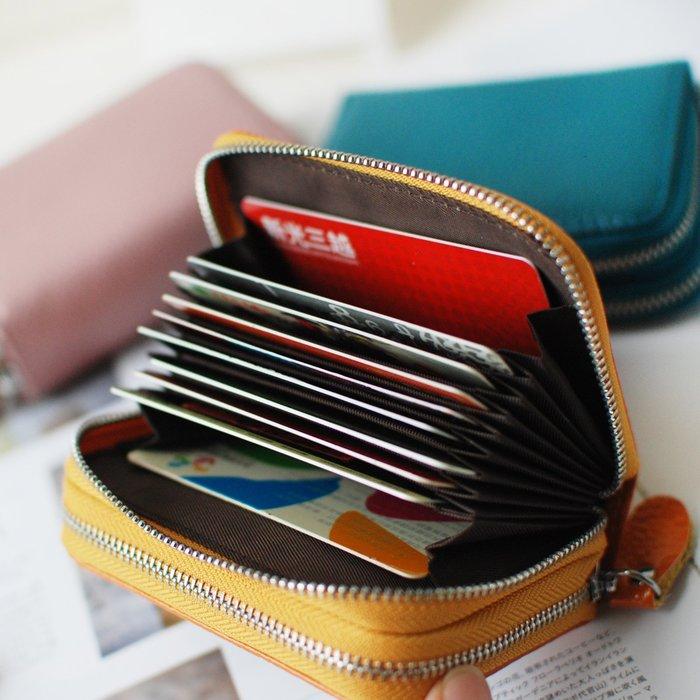 【里樂@ LeaThER】真皮多隔層風琴短夾 信用卡夾 零錢包 621