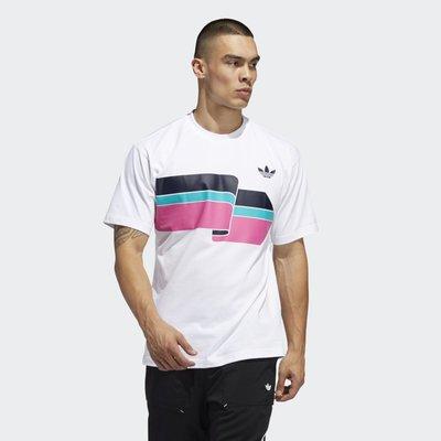 南◇2020 5月 Adidas ORIGINALS RIPPLE TEE FM1531 白 休閒 短T 男款