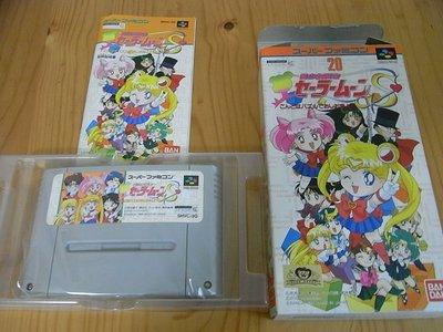 【小蕙館】SFC日版卡帶 ~ 美少女戰士方塊S (盒裝)