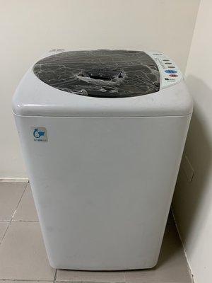 新竹國聖二手家電 SANYO 三洋 ASW-87HTB 6.5公斤 微電腦全自動洗衣機 有維修保固 舊機回收 新竹市