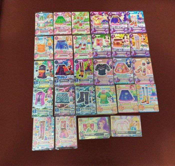 偶像學園 第二季第五彈 N卡全套28張含二張N卡頭飾。 全部都有包卡套
