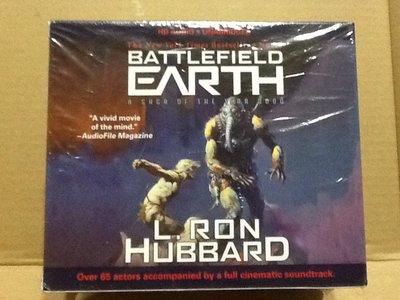 ~拉奇音樂~Battlefield Earth: A Saga of the Year 3000 全新未拆封。有聲CD
